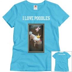 I Love Poodles -1