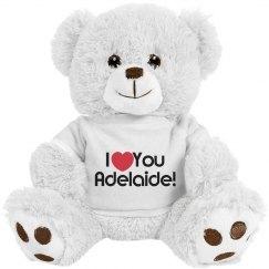 Custom love teddy bear