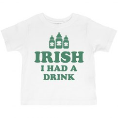 Irish Funny St Patricks Day Kid