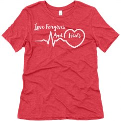 Love Forgives And Heals