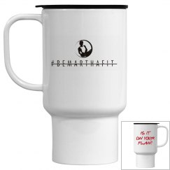 IS IT ON YOUR PLAN TRAVEL MUG