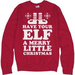 Elf Holiday Cheer