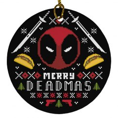 Merry Deadmas Xmas Ornament