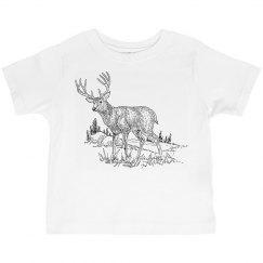 Deer Scene Graphic