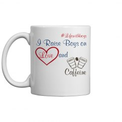 Love and Caffeine Mug