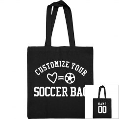 Custom Soccer Tote Bags For Mom