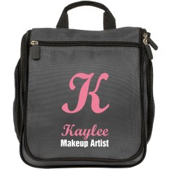 Custom Monogram Salon Travel Makeup Bag