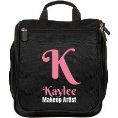 Custom Monogram Salon Travel Makeup Bag