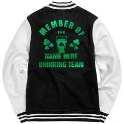 Custom Irish Drinking Team Bomber