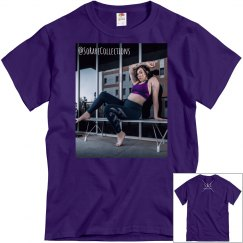 "Men's Graphic Tee ""workout"""