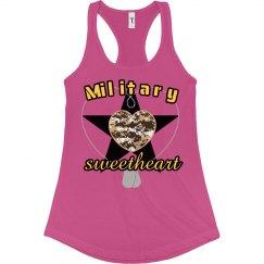 Military Sweetheart-tank