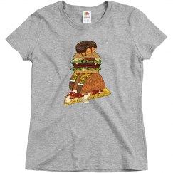 Junk Food Woman's