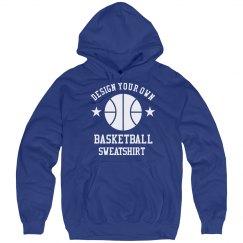 Design Your Own Basketball Sweatshirt Hoodie