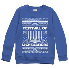 Hanukkah Jedi Knight Ugly Sweater