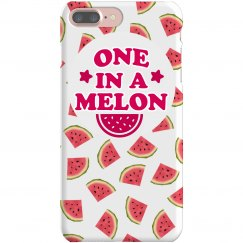 One in a Melon Print iPhone Case