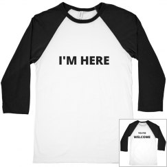 Unisex You're Welcome Night At The Bar Tee