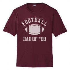 Football Dad Of Custom Player #