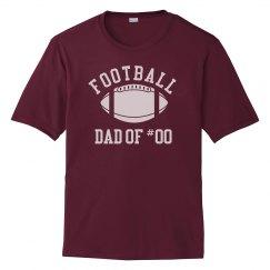 Football Dad Of Custom Player #