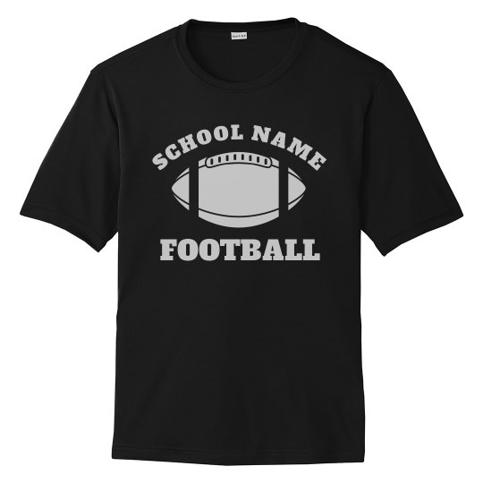 774569a4 Custom Football Dad/Mom Jersey Unisex Colorblock Short Sleeve T-Shirt
