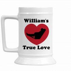 William's True Love Stein