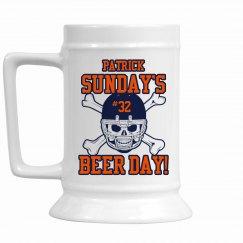 Sunday Beer Day Stein