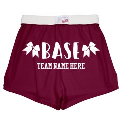 Cheerleader Base Custom Shorts