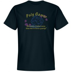 ♡Poly Gamer♡ - Navy Tee