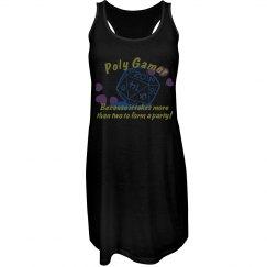 ♡Poly Gamers♡ - Black Tank Dress