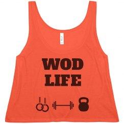 WOD LIFE black/red