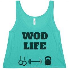 WOD LIFE black/teal