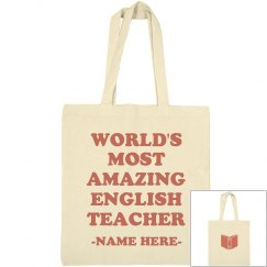 Most Amazing English Teacher Gift