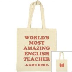 Most Amazing English Teacher Gift