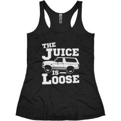 The Juice Is Loose Funny OJ
