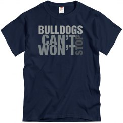Bulldogs Can't Stop Won't