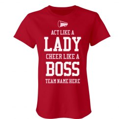 Cheer Like A Boss