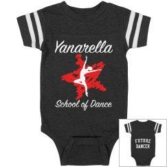 Yanarella Varsity Onesie