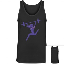 Purple Logo Tank| $33
