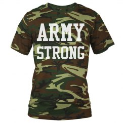 Army Strong Military Tee