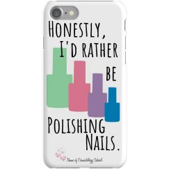 Honestly...Polishing Nails - iPhone 7 - Cosmetology