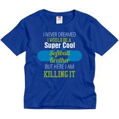 Super Cool Softball Brother