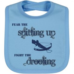 Baby Fear and Fight Bib
