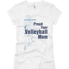 Proud Volleyball Mom