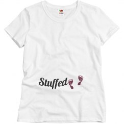 Stuffed Thanksgiving shirt