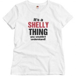 It's a Shelly thing