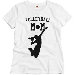 Volleyball Mom Silhouette