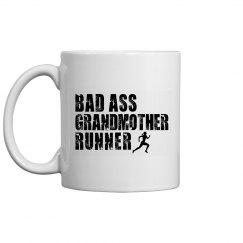 Bad Ass Grandmother Runner With Runner
