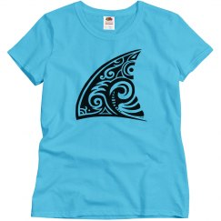 Tribal Art Shark Fin