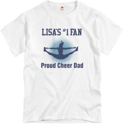 Proud Cheer Dad