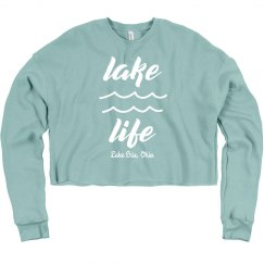 Lake Life Custom Vacation Comfy Crop