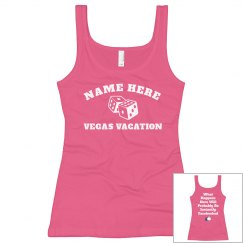 Custom Vegas Vacation w/ Back